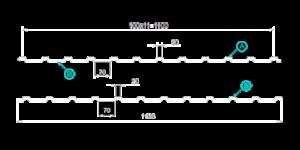 Профилированный лист С-10