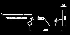 Планка примыкания нижняя
