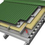 Пароизоляция зданий из металлоконструкций